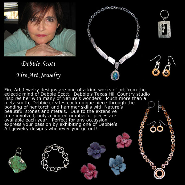 Debbie Scott and Fire Art Jewelry